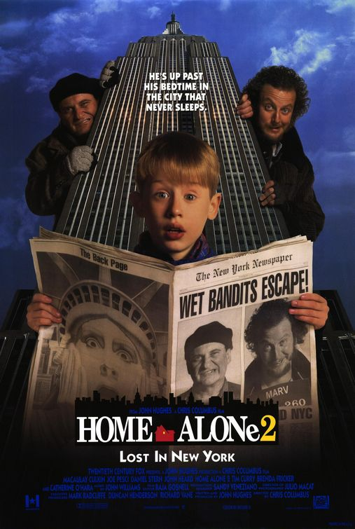 Home Alone 2: Lost in New York / Сам вкъщи 2 (1992)