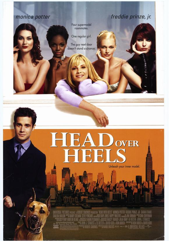 Head Over Heels / Лудо влюбена (2001)