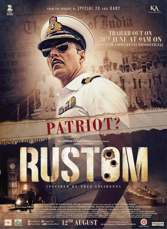 Rustom / Рустом (2016)