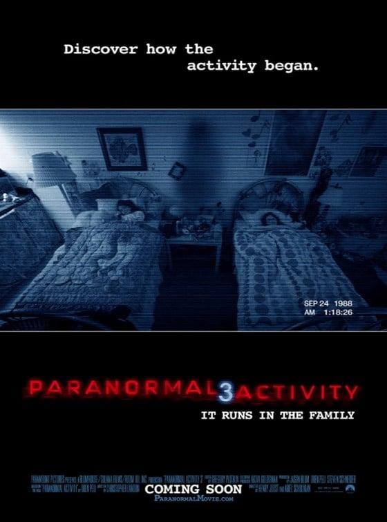 Paranormal Activity 3 / Паранормална активност 3 (2011)